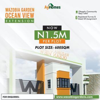 Registered Survey, Okegelu Community Before La Campagne Tropicanal Beach Resort, Akodo Ise, Ibeju Lekki, Lagos, Mixed-use Land for Sale