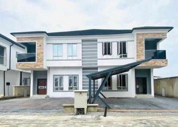 a Brand New Designed and Fashionable 4 Bedroom Semi Detached Duplex, Osapa Estate Along Lekki Axis, Osapa, Lekki, Lagos, Semi-detached Duplex for Sale