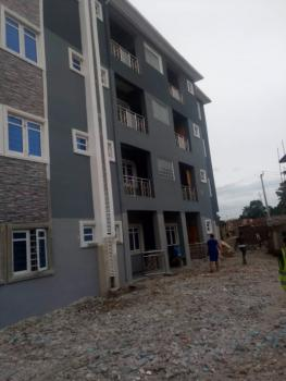 Newly Built 2 Bedroom Ensuite with Car Park, Off Apapa Rodd, Behind Leadway Insurance, Ebute Metta West, Yaba, Lagos, Flat for Rent
