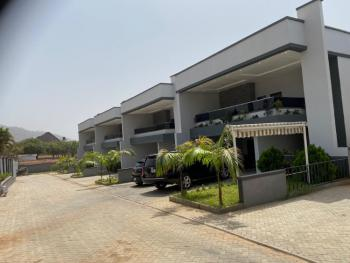 Topnotch & Serviced 4 Bedrooms Exquisite Terrace with 2 Rooms Bq, Diplomatic Zone, Katampe Extension, Katampe, Abuja, Terraced Duplex for Sale