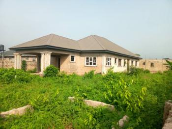Massive 4 Bedrooms Bungalow, Ogheghe, Off Sapele Road, Benin, Oredo, Edo, Detached Bungalow for Sale
