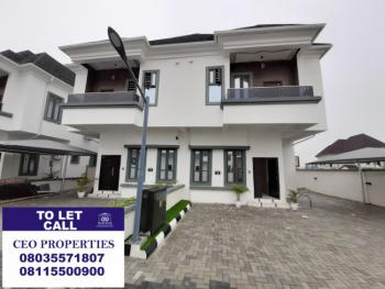 4 Bedroom Serviced Semi-detached Duplex with 24 Hours Electricity, Ikota Estate By Megachicken Restaurant Lekki, Ikota, Lekki, Lagos, Semi-detached Duplex for Sale