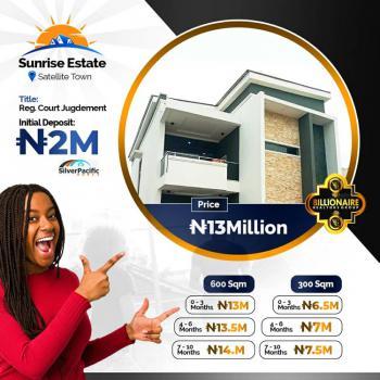 Sunrise Estate, Satellite Town, Festac, Amuwo Odofin, Lagos, Residential Land for Sale