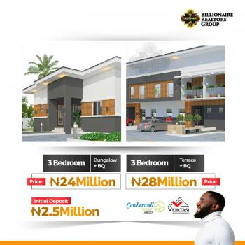 3 Bedroom Terrace Plus Bq, Camberwall Estate, Abijo, Lekki, Lagos, Terraced Bungalow for Sale