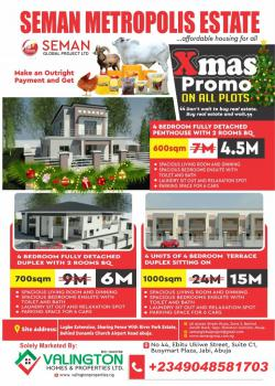 Promo Promo Estates Plots, Behind Dunamis Headquarters Church, and River Park Estate, Lugbe District, Abuja, Residential Land for Sale
