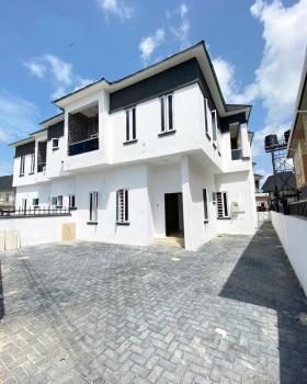 Well Built 4 Bedroom Semi-detached Duplex with 1 Room Bq, Sangotedo Estate, Sangotedo, Ajah, Lagos, Semi-detached Duplex for Sale