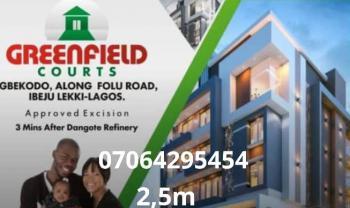 Estate Land, Facing Dangote Seaport Government Excision Dry, Eleko, Ibeju Lekki, Lagos, Residential Land for Sale