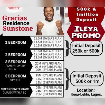 1 Bedroom, Eleko, Ibeju Lekki, Lagos, Mini Flat for Sale