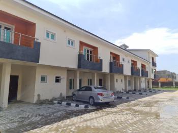 Well Located Three (3) Bedroom Terrace Duplex (carcass), Ikate Elegushi, Lekki, Lagos, Semi-detached Duplex for Sale