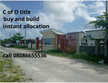 C of O Gated Land, Dry Land with C of O in Awoyaya Few Minutes to Expressway, Oribanwa, Ibeju Lekki, Lagos, Residential Land for Sale