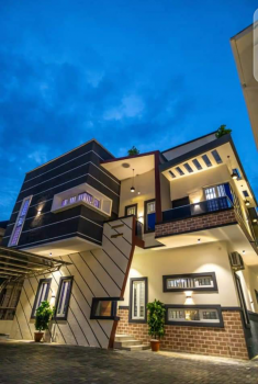 Exclusive 5 Bed Room Fully Detached Duplex,at Lekki Orchid Hotel, at Lekki Second Tall Gate Orchid Hotel Area, Lekki Phase 1, Lekki, Lagos, Detached Duplex for Sale