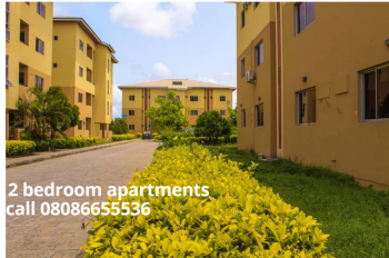 2 Bedroom Apartments in a Secure Estate, Abijo Gra, Abijo, Lekki, Lagos, Block of Flats for Sale