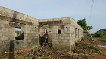 Uncompleted 3bedroom Flat, One Fold Bus Stop, Gberigbe, Ikorodu, Lagos, House for Sale