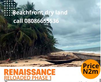 Beachfront Dry Land, Renaissance Reloaded, Folu Ise, Ibeju Lekki, Lagos, Residential Land for Sale