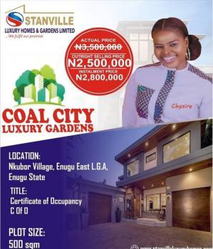 C of 0 100% Dry Land in Serene Location, Coal City Garden Estate, Emene, Enugu, Enugu, Mixed-use Land for Sale