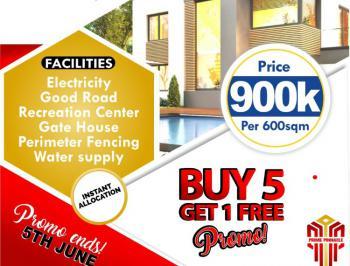 Estate Land, Sunstone Estate, Folu Ise, Ibeju Lekki, Lagos, Residential Land for Sale