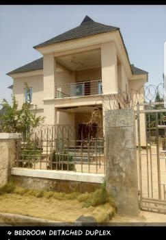 Luxury 4bedroom Duplex, Suparcell Estate, Apo, Abuja, Detached Duplex for Sale