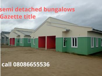 3 Bedroom Semi Detached Bungalows, Sangotedo, Ajah, Lagos, Semi-detached Bungalow for Sale