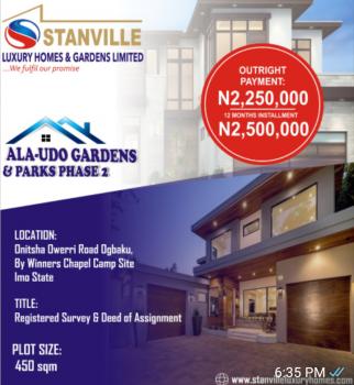 Affordable 100% Table Land in Serene Environment, Ala-udo Estate, Ogbaku Town, Off Onitsha - Owerri Road, Ogbaku, Mbaitoli, Imo, Mixed-use Land for Sale