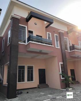 Exquisite 3 Bedrooms Terraced Duplex with 24hrs Light, Chevron, Lekki Phase 2, Lekki, Lagos, Terraced Duplex for Rent