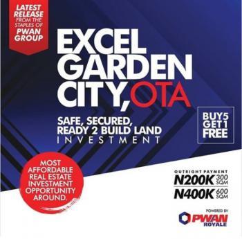 Excel Garden City, Ado-odo/ota, Ogun, Residential Land for Sale