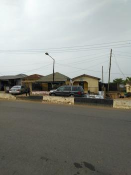 a Half Plot of Land with Structure, White House Bus Stop, Ajasa Command Road, Meiran, Agege, Lagos, Commercial Land for Sale