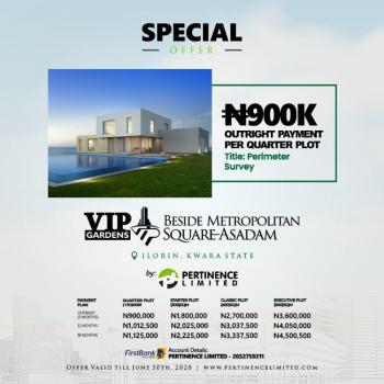 Dont Miss This Special Offer, Metropolitan Square, Asadam, Ilorin West, Kwara, Residential Land for Sale
