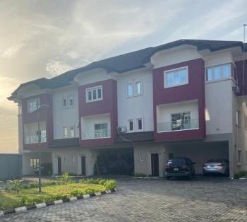 Luxury Serviced 3 Bedroom Terrace Duplex with Fitted Kitchen & Bq, Right Side, Lekki Phase 1, Lekki, Lagos, Terraced Duplex for Rent