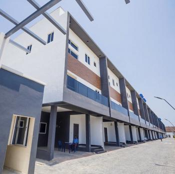 Luxury 4-bedroom Terrace Duplex with Fitted Kitchen and a B/q, Ikate Elegushi, Lekki, Lagos, Terraced Duplex for Rent