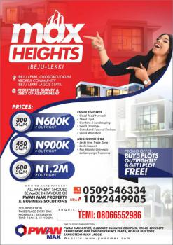 Max Heights Special Offer, Okosoko/ Okun Aboreji Community, Folu Ise, Ibeju Lekki, Lagos, Mixed-use Land for Sale