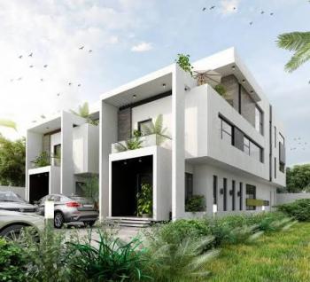 Luxury 5 Bedrooms Semi-detached Duplex, Cowrie Creek Estate, Nicon Town, Lekki, Lagos, Semi-detached Duplex for Sale