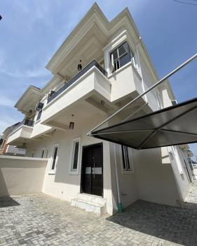 Lovely  4 Bedroom Semi Detached Duplex with a Fitted Kitchen and a B/q, Chevron, Ikota, Lekki, Lagos, Semi-detached Duplex for Rent