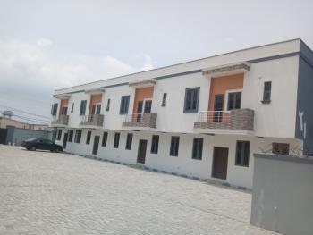 Newly Built Portable 3besroom Terraced Duplex with a Room Bq, Orchid Axis, Lafiaji, Lekki, Lagos, Terraced Duplex for Sale