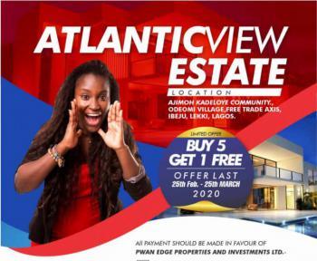 Atlantic View Estate (buy Ocean Front, Buy 5plots and Get 1 Free), Ode-omi Community, Folu Ise, Ibeju Lekki, Lagos, Mixed-use Land for Sale