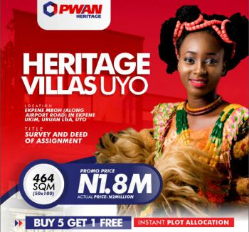Land, Heritage Villas, Ekpene Mboh Community (along Airport Road), Uran Lga, Uyo, Akwa Ibom, Mixed-use Land for Sale