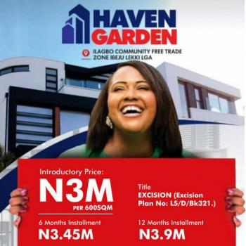 Haven Gardens Estate (ilagbo Excision), Ilagbo, Ibeju Lekki, Lagos, Mixed-use Land for Sale