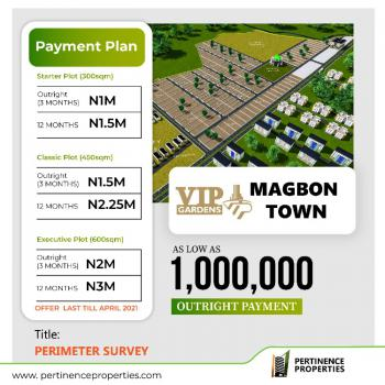 Own a Piece of Vip Gardens, Magbon, Badagry, Lagos, Residential Land for Sale
