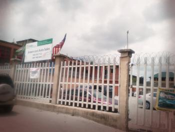 Car Space Along The Road, Along The Ago Palace Way, Ago Palace, Isolo, Lagos, Commercial Land for Rent