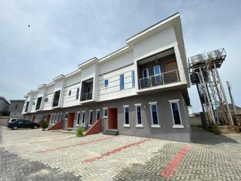 Brand New Self-serviced 3-bedroom Terrace House with Bq, Lafiaji, Lekki, Lagos, Terraced Duplex for Sale