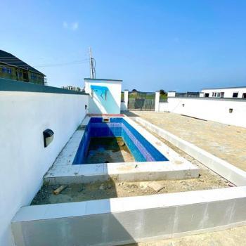 Luxury 4 Bedrooms Semi Detached/terraced-duplex in a Secured Estate, Palm Spring Estate, Ado, Ajah, Lagos, Semi-detached Duplex for Sale
