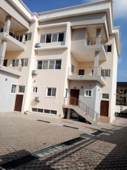 Newly Built 5 Bedroom Terrace Duplex with a Room Bq in a Serene Area, Guzape District, Abuja, Terraced Duplex for Rent