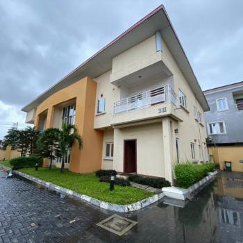 Serviced 4 Bedroom Semi Detached Duplex, Chevron, Lekki Expressway, Lekki, Lagos, Semi-detached Duplex for Rent