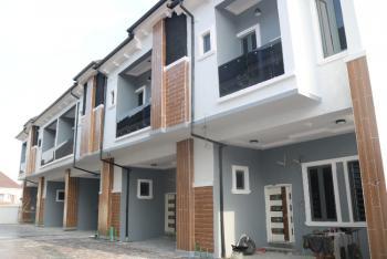 Brand New Serviced 4 Bedroom Terrace Duplex, Chevron, Lekki, Lagos, Terraced Duplex for Sale