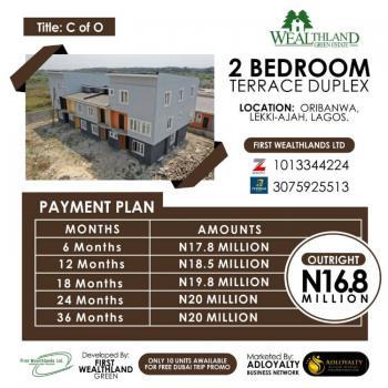 Now Selling Wealthland Green Estate, Oribanwa, Lekki-ajah, Lagos, Oribanwa, Ibeju Lekki, Lagos, Terraced Duplex for Sale