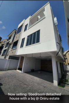 5 Bedroom,gym Room &1bq Fully Detached House on a Fully Gated Road, Oniru Estate, Oniru, Victoria Island (vi), Lagos, Detached Duplex for Sale