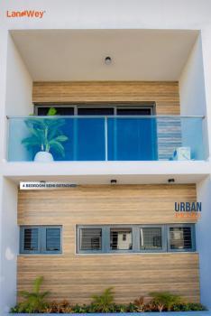 Luxury 4 Bedroom Detached Duplex with Bq. Perfect Title C of O, Behind Abraham Adesanya Estate, Before Lagos Business School., Lekki, Lagos, Semi-detached Duplex for Sale