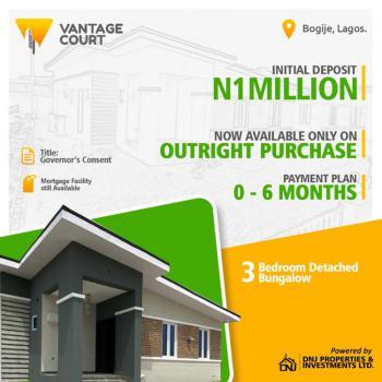 3bedroom Bungalow, Ajah, Lagos, Detached Bungalow for Sale