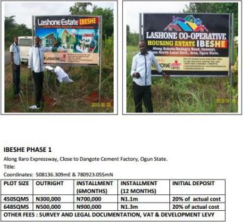 Registered Survey, Ibeshe Phase 2 Close to Dangote Refinery, Ibeshe, Ikorodu, Lagos, Mixed-use Land for Sale