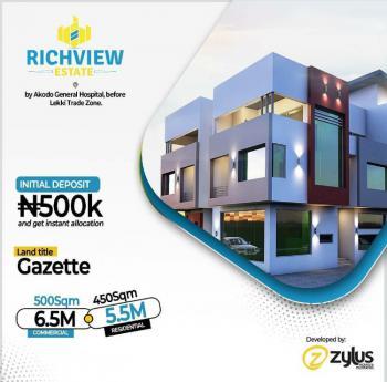 Richview Estate, Ibeju Lekki, Akodo Ise, Ibeju Lekki, Lagos, Mixed-use Land for Sale