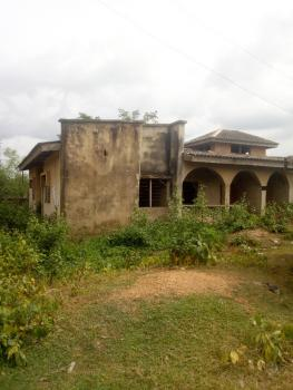 Uncompleted Roofed Twin 3 Bedroom Bungalow, Ope Street, Near Apete-poly Road, Ibadan, Oyo, Detached Bungalow for Sale